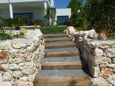 realisation jardin mediterraneen